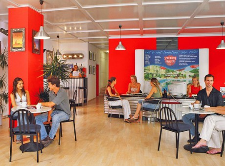 Sprachcaffe Frankfurt - kurzy němčiny - Kukabara