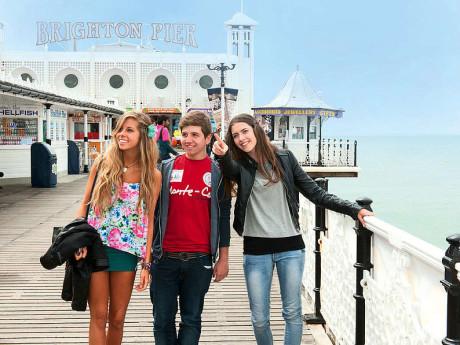 Sprachcaffe Brighton - kurzy pro juniory Brighton