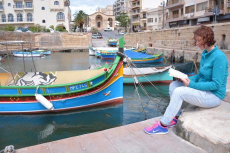 Zátoka St. Pauls Bay Malta