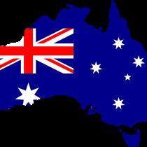 kukabara_austrálie_mapa