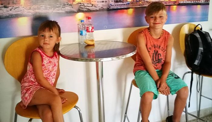 Děti na GV Malta